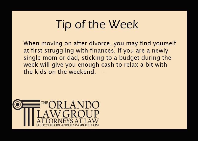 Struggling after divorce