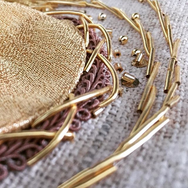 Goldwork Embroidery The Non-traditional Way: Using