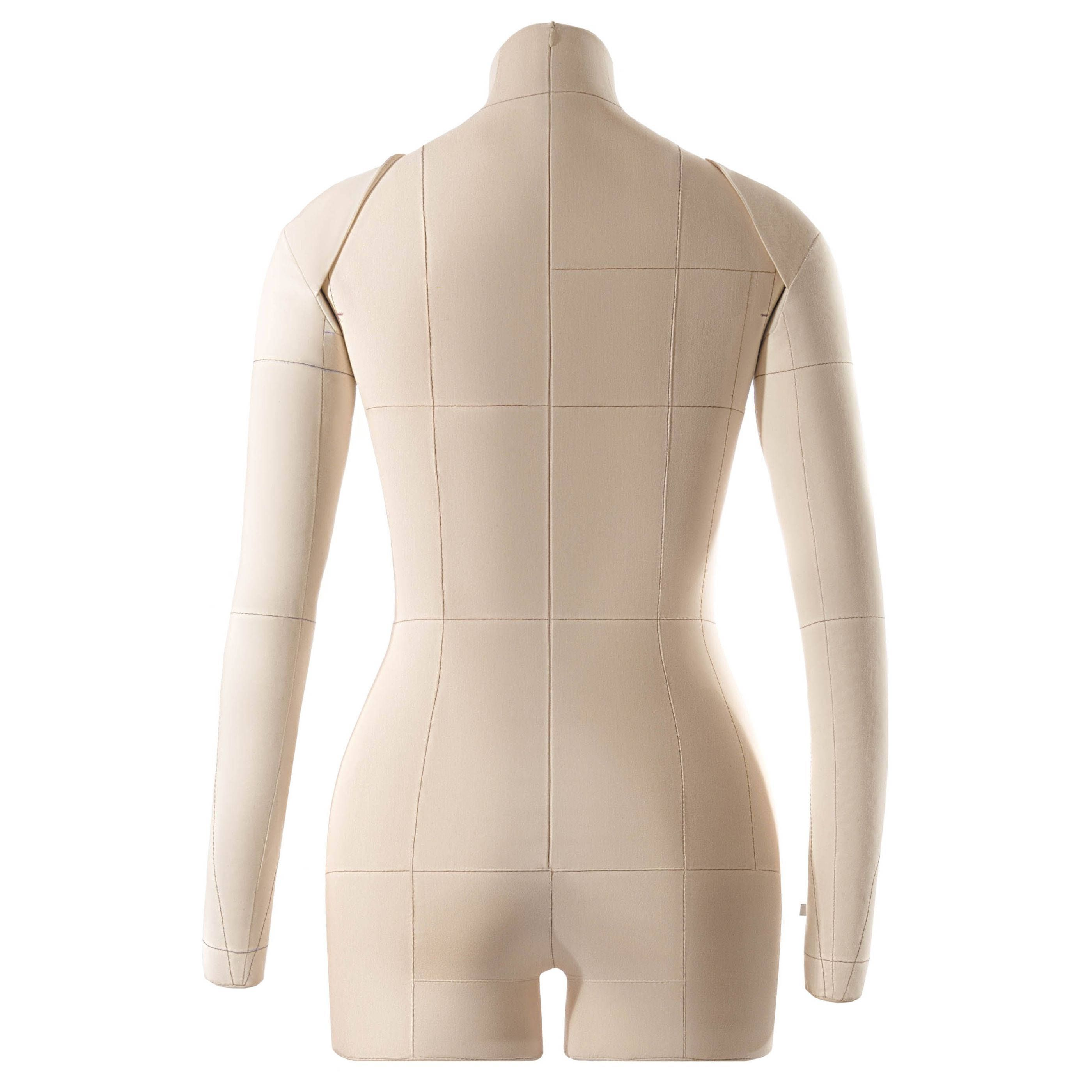 Eva professional female soft fully pinnable tailor form