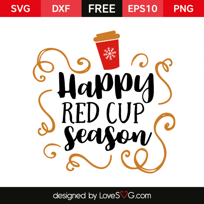Happy Red Cup Season With Images Silhouette Cameo Christmas
