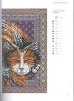 Gallery.ru / Фото #73 - JH_Needlepoint_Cats - Los-ku-tik