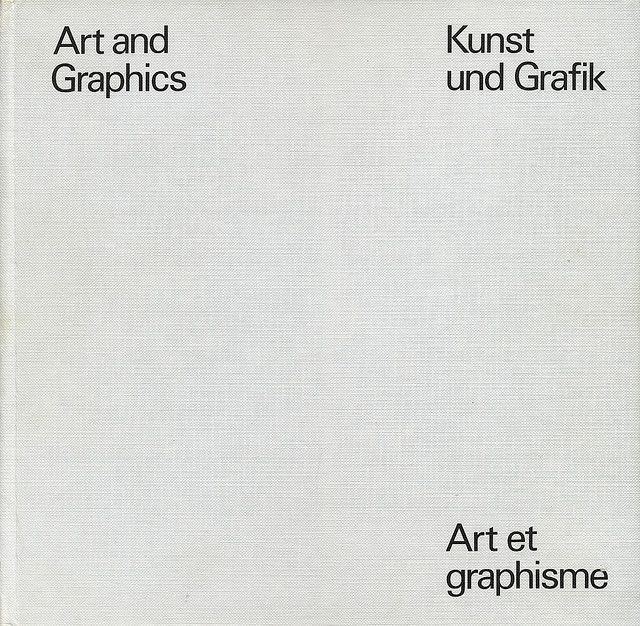 Art and Graphics — Willy Rotzler & Jacques N. Garamond (1983)