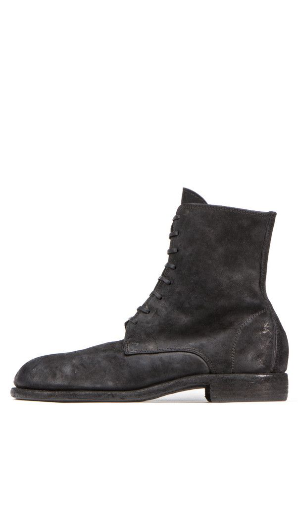 eyelet lace-up boots - Brown Guidi dBrKObU