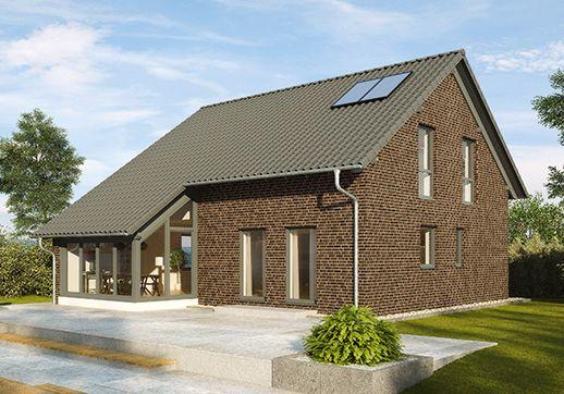 Fertighaus günstig bauen - Buchenallee V2 - mit Wintergarten und ...