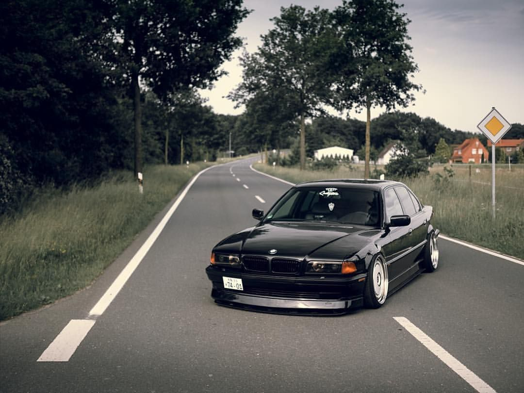 Mr E38 STRICTLYSTATIC Camber Stance Static Fivestarfitment Bmw