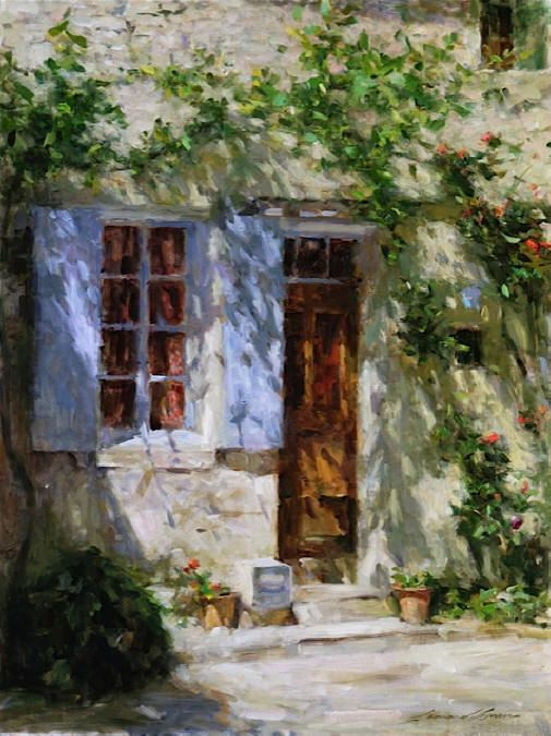 LEONARD WREN - Artist, Galleries in Carmel California- Jones & Terwilliger