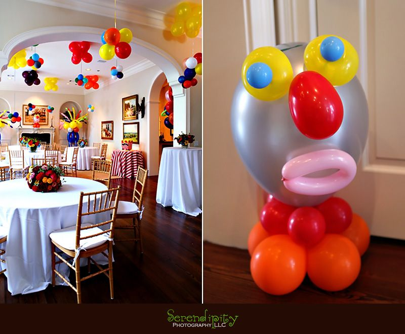 Ideas For Birthday Decoration At Home Part - 36: Colorful Balloons Birthday Party Decorations At Home