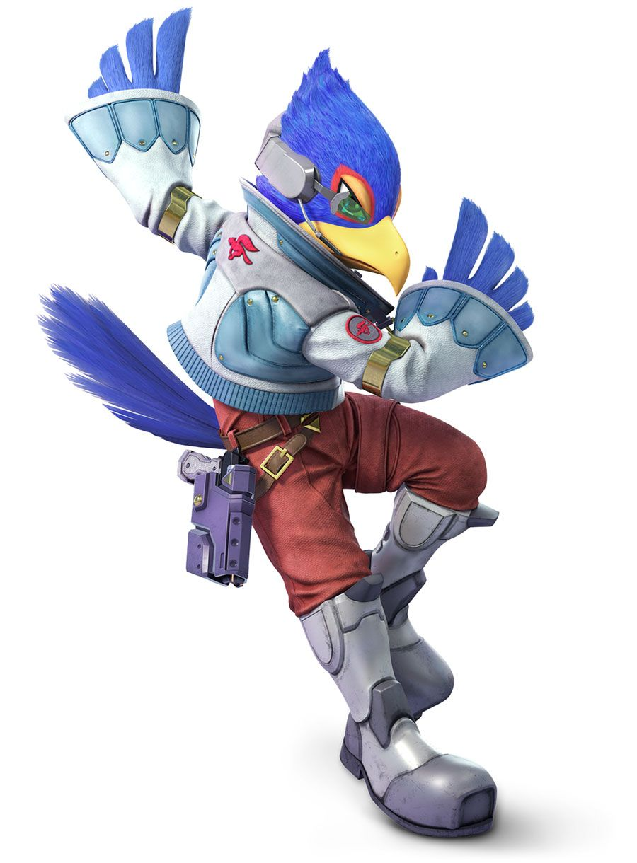 Falco From Super Smash Bros Ultimate Illustration