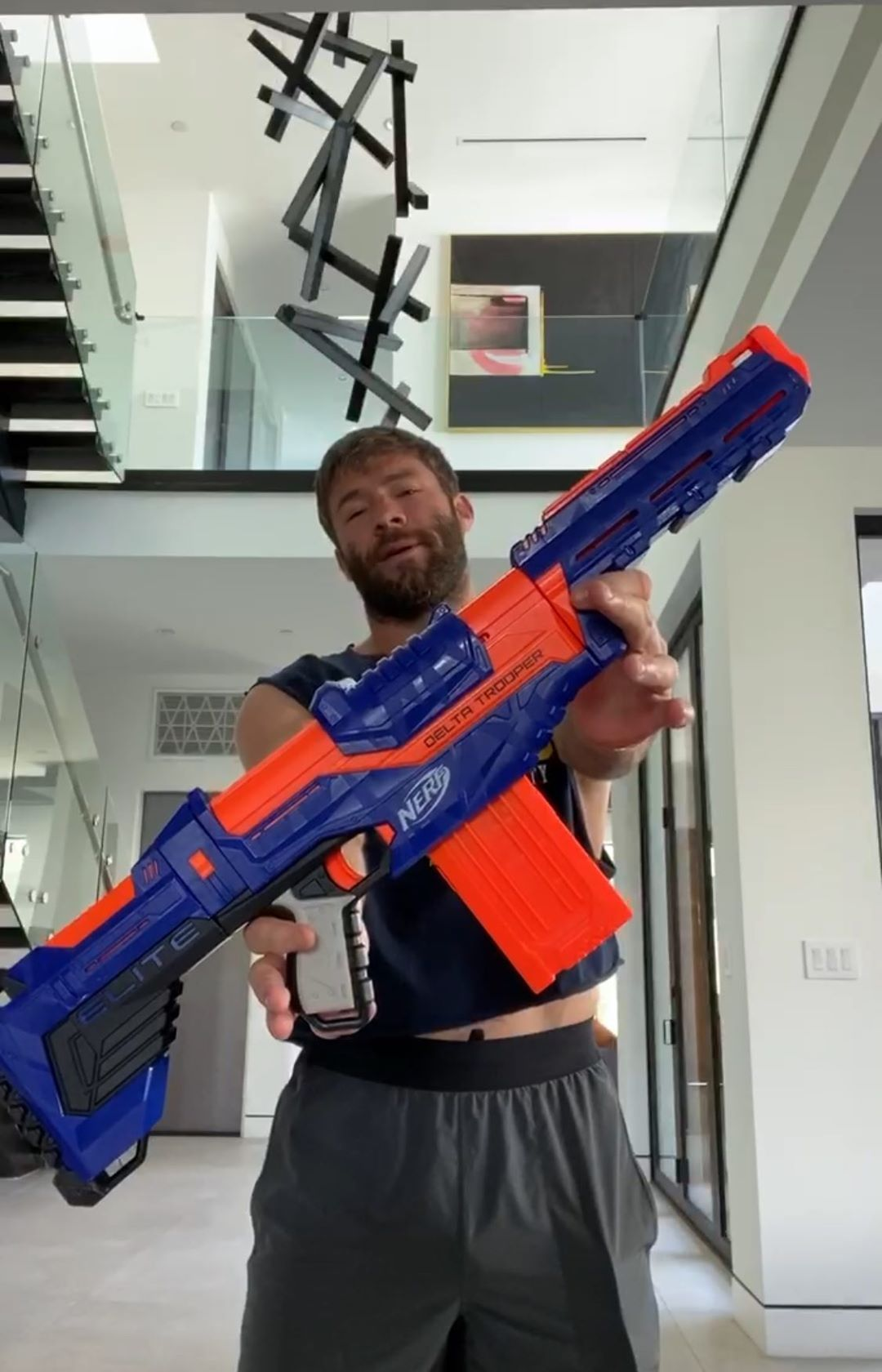 Julian Edelman On Instagram Take Seven Ish Steps Back From Your Phone Blast It As Quickly As You Can With Your Tru In 2020 Julian Edelman Edelman Julian