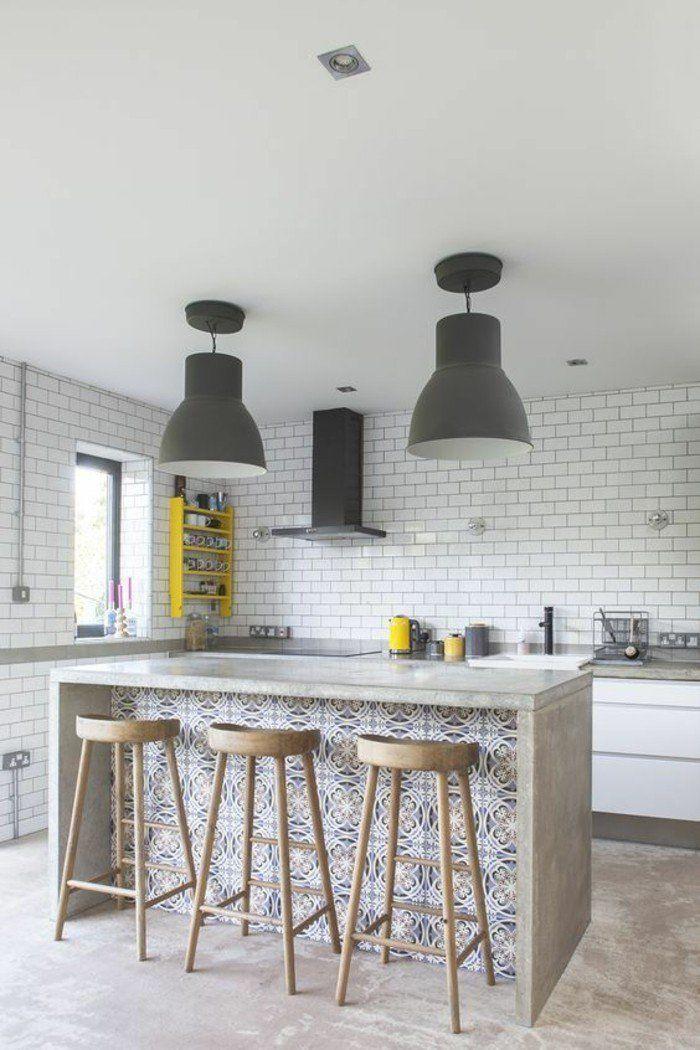 ▷ 1001+ idées pour une cuisine relookée et modernisée Cuisine - Cuisine Amenagee Avec Ilot
