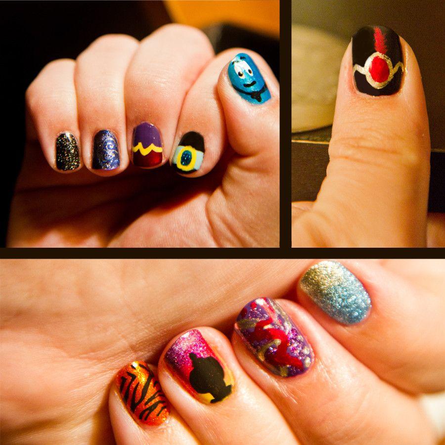 Arabian Nights, Like Arabian Days - Aladdin themed nails | Nail Art ...