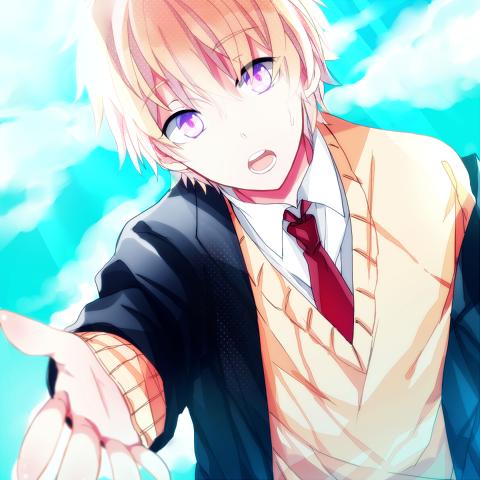 Cute anime boy xD We Heart It anime, anime boy, and