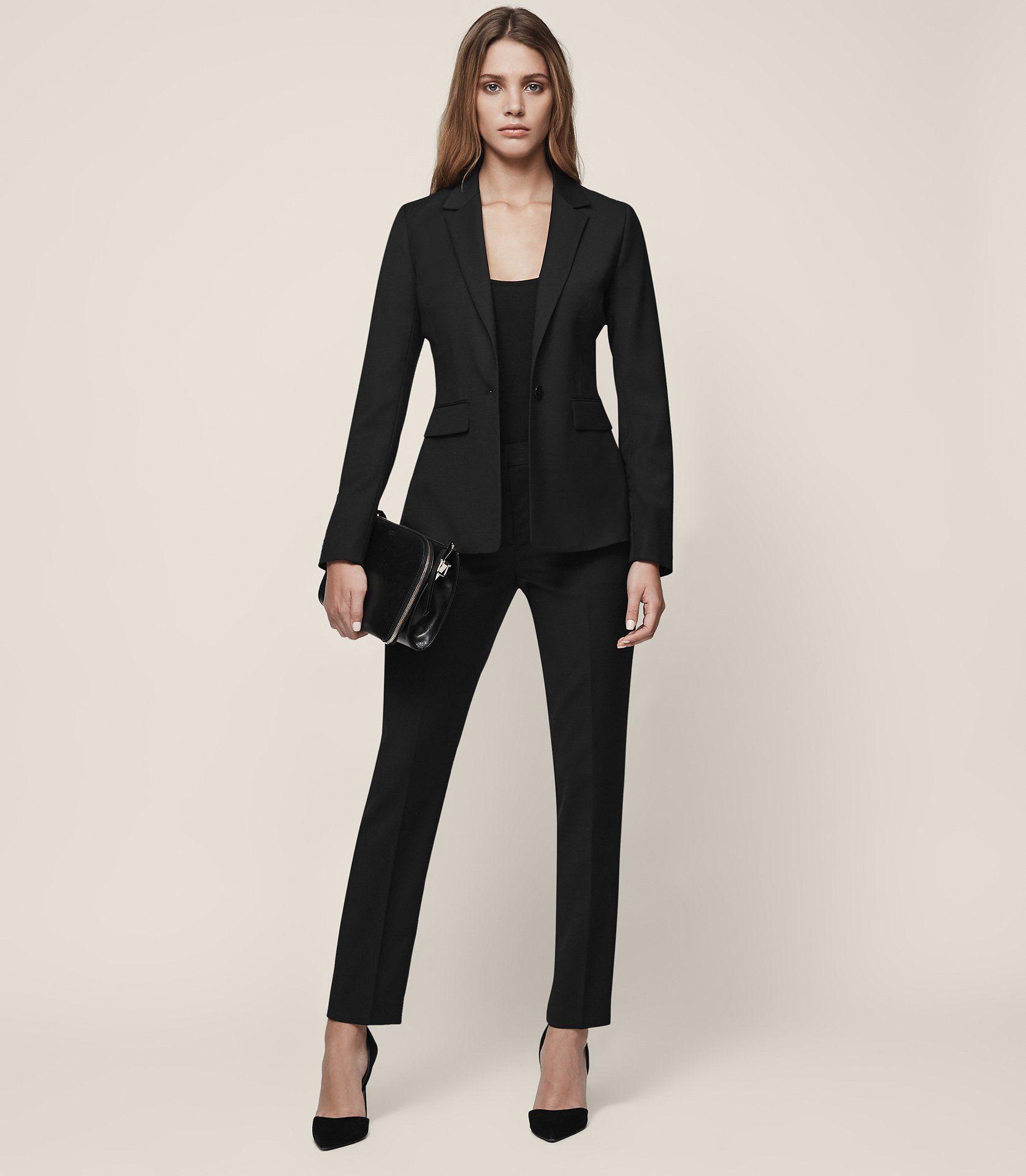 73222be1103 Huxley Jacket Single-Breasted Blazer - REISS Office Style
