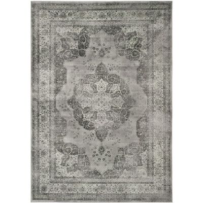 Safavieh Courtyard Vintage Grey Indoor Outdoor Rug Home