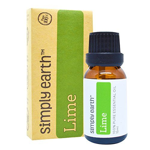 Lime Essential Oil by Simply Earth  15 ml 100 Pure Therapeutic Grade >>> Read more reviews of the product by visiting the link on the image. Note:It is Affiliate Link to Amazon.