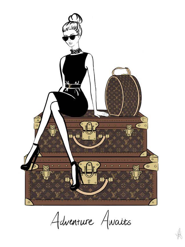Louis Vuitton art, fashion wall art, Louis Vuitton wall art, Louis Vuitton print, Louis Vuitton poster