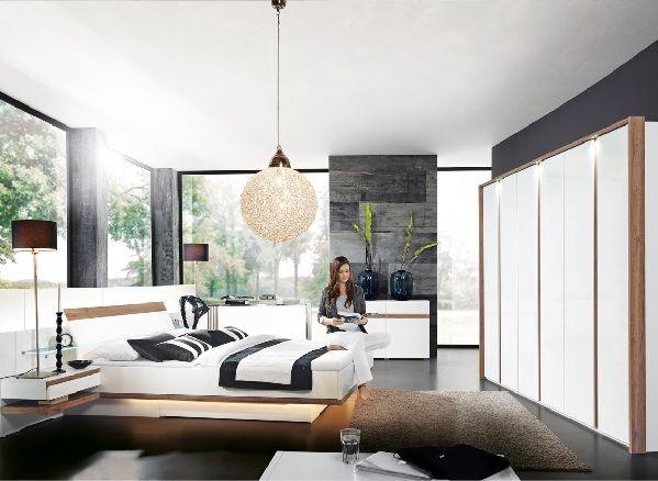 MONDO Schlafzimmer CATUN Weiß Matt/Weiß Hochglanz #Einrichtung #Schlafzimmer  #wohnen