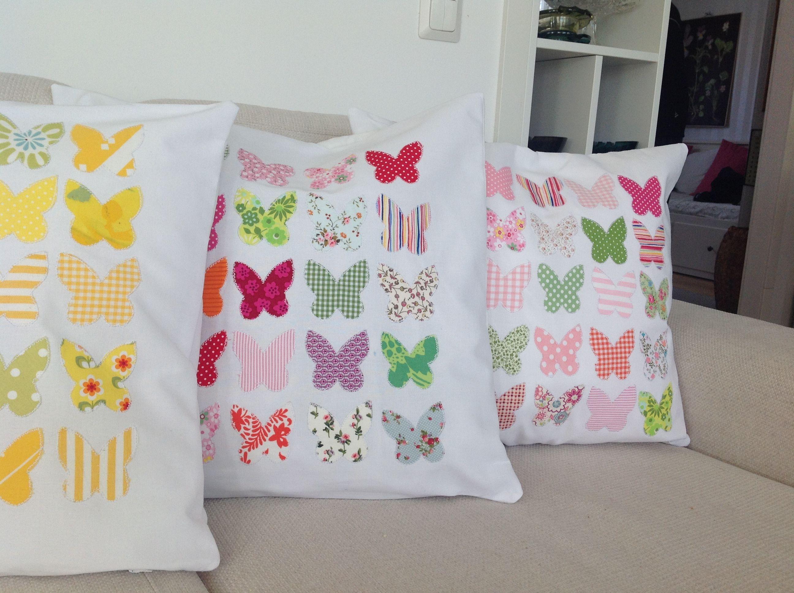Keväisiä tyynyjä