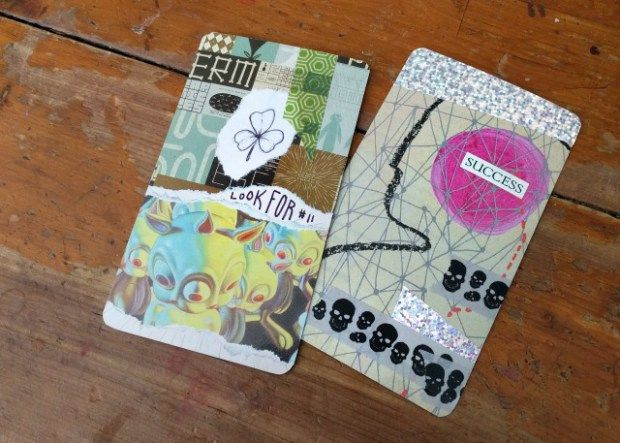 Make Your Own Collage Oracle Or Tarot Deck Diy Tarot