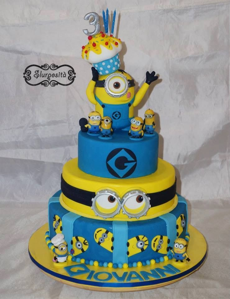 Cake Designs Of Minions : pasteles fondant de minions - Buscar con Google fiestas ...