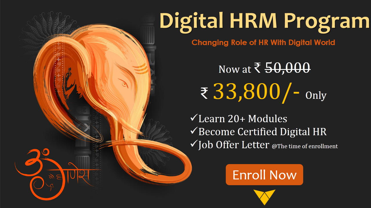 This Ganpati Change Your Traditional Hr Skills To Digital Hr And Stand Still With The Digitalised Industries Enroll Now Hr Jobs Job Offer Interview Skills