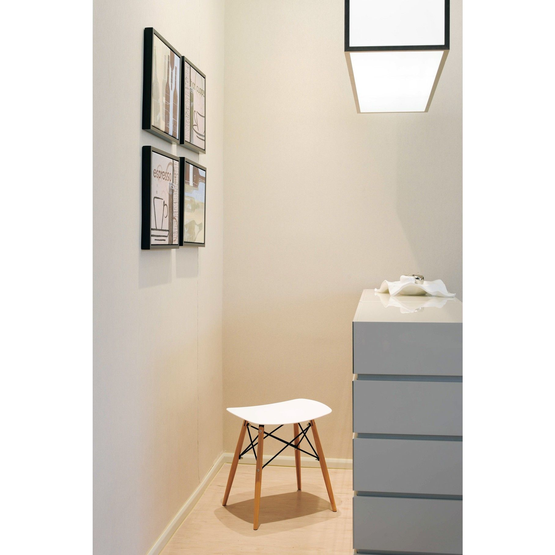 Door 18 Inch Eames Style Dsw White Stool White Stool Master Bedroom Closet Eames