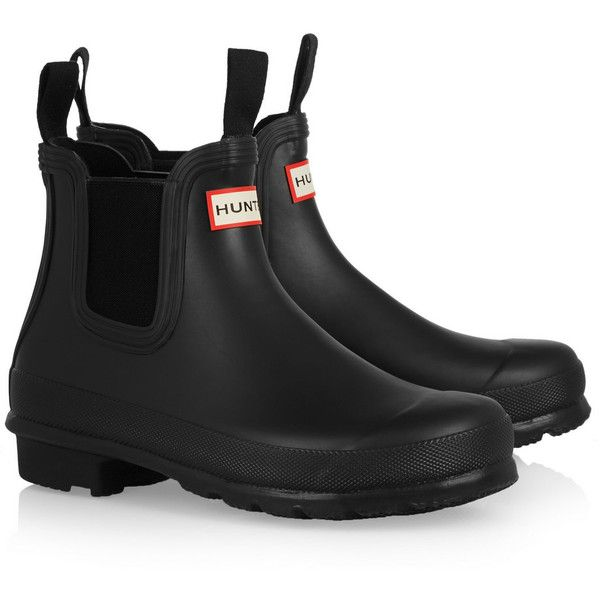 Rubber rain boots found on Polyvore