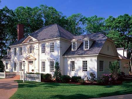 Colonial Luxury House Plans House Design Ideas