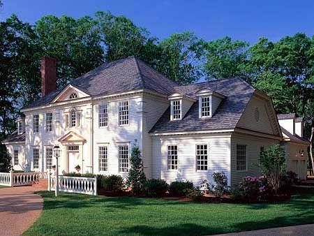 Colonial Luxury House Plans House Design Ideas