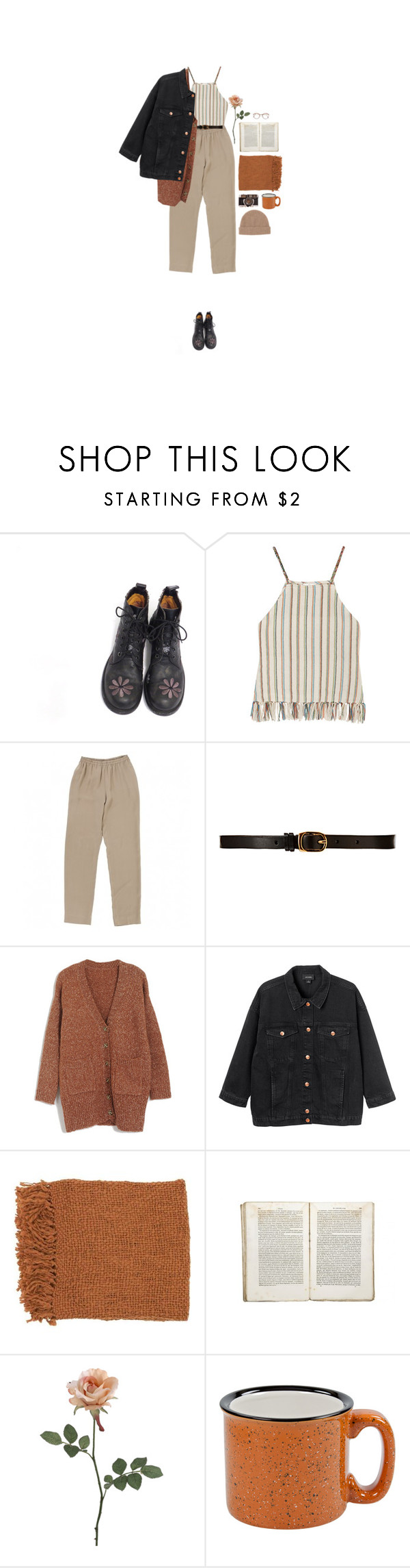 """ikävä meitä"" by hetasdfghjkl ❤ liked on Polyvore featuring Miguelina, CO-OP Barneys New York, Monki, Surya, Jayson Home and Toast"