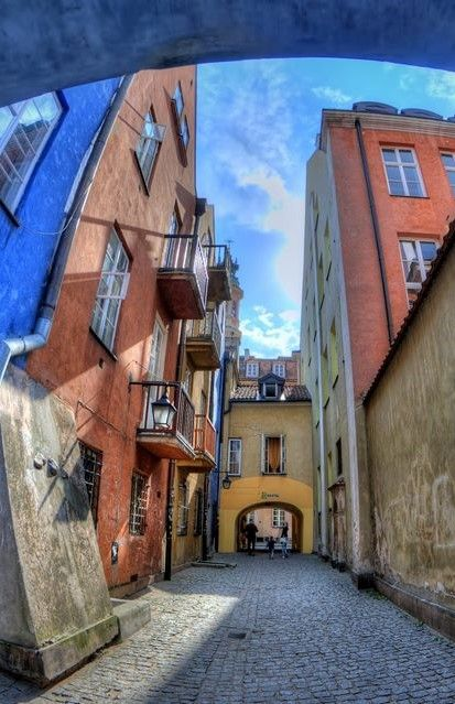 Old Town _ Warsaw