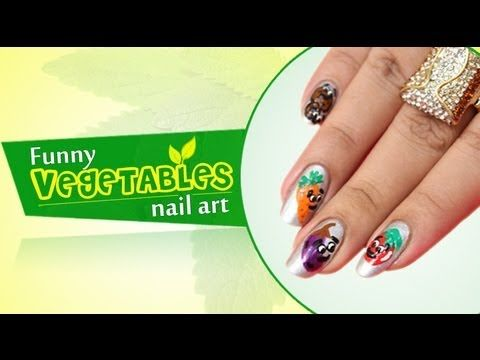Funny vegetable nail art do it yourself httpyoutube funny vegetable nail art do it yourself httpyoutube solutioingenieria Gallery