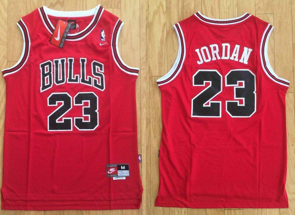 info for 5bcff 404ff Men's Chicago Bulls 23 Michael Jordan Jersey Red color ...