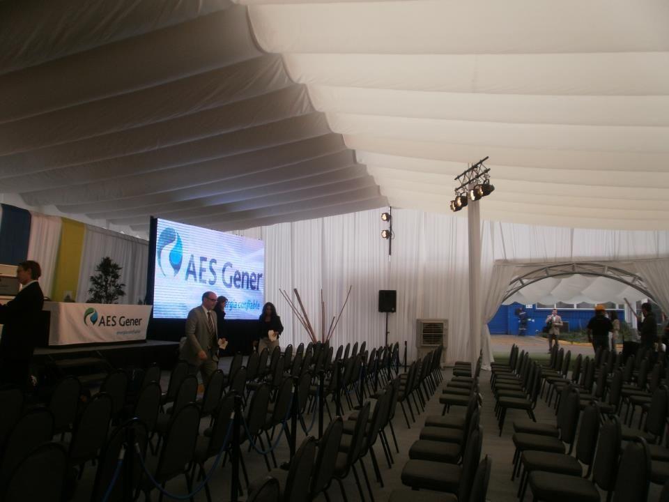 Ambientes confortables para eventos de Grandes Empresas que no desean defraudar a sus asistentes.