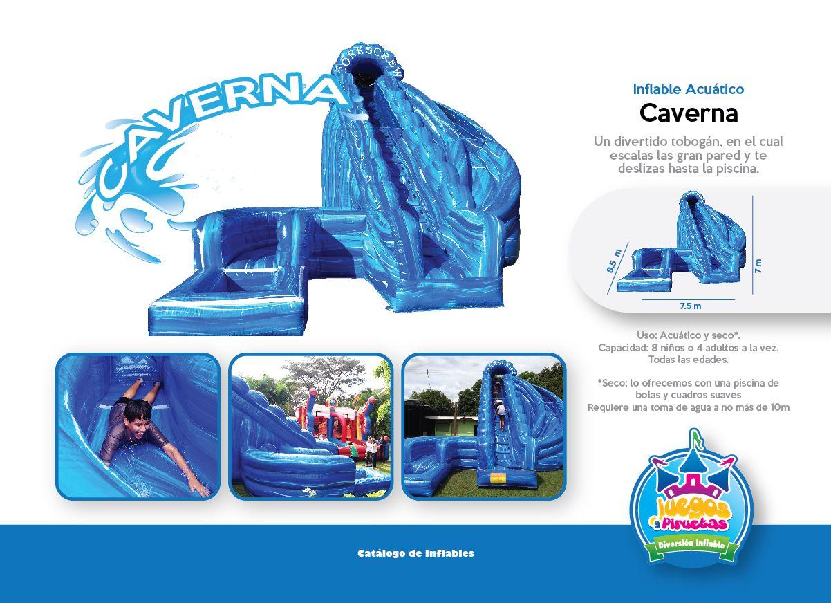 Inflable Acuático Caverna  Niños y Adultos Costa Rica  http://www.juegosypiruetas.com/#!inflables-acuticos/cahp