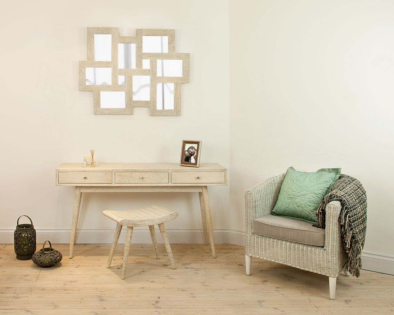 white washed mango wood. Saya White Mango Mirror - Make A Statement On Your Wall With This White-washed  Wood Mirror. Its Has Stunning Contemporary Design 8 Mirrors White Washed Mango