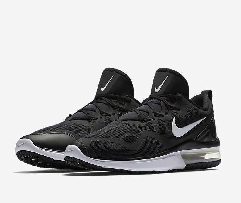 Nike Air Max Fury AA5739-001 Black White Men s Running Shoes NEW! Fury Nike  Air 1614a7004