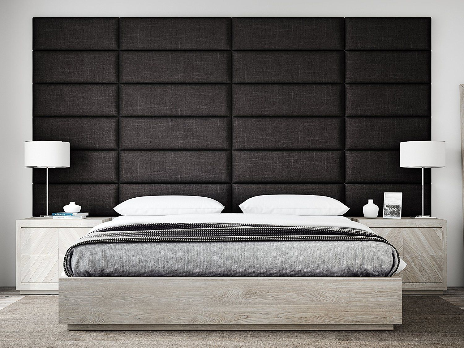 These Beautiful Upholstered Headboard Panels Can Be Used As A