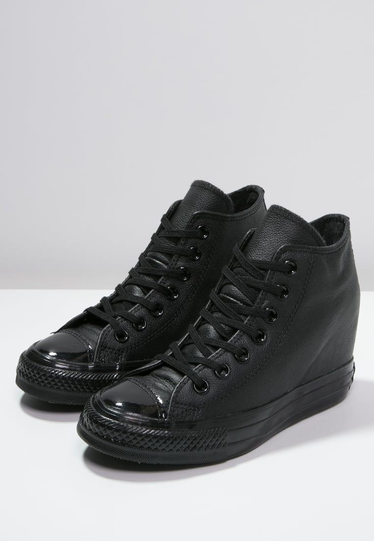 Converse Chuck Taylor All Star Lux Mid Botki Na Koturnie Black Chucks Converse Chuck Taylors Chuck Taylor All Star