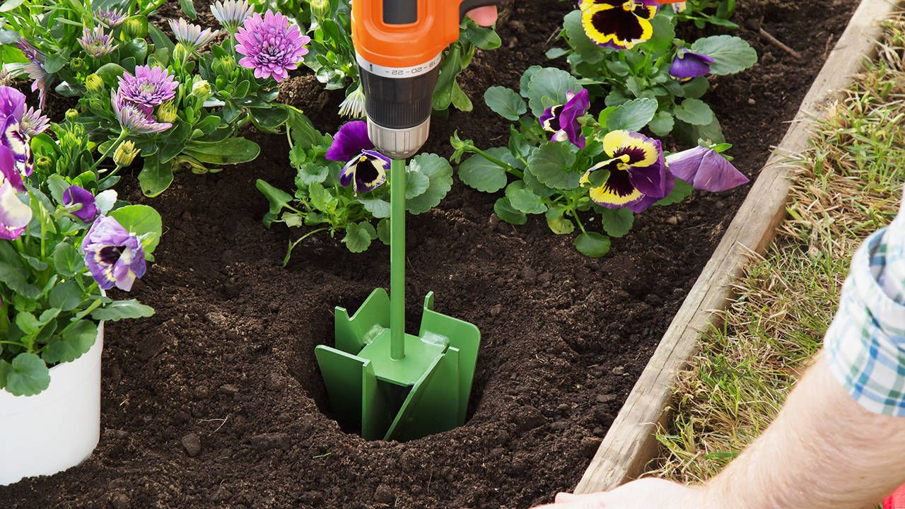 The Maxbit Garden Hole Digging Extension Garden Tools Urban