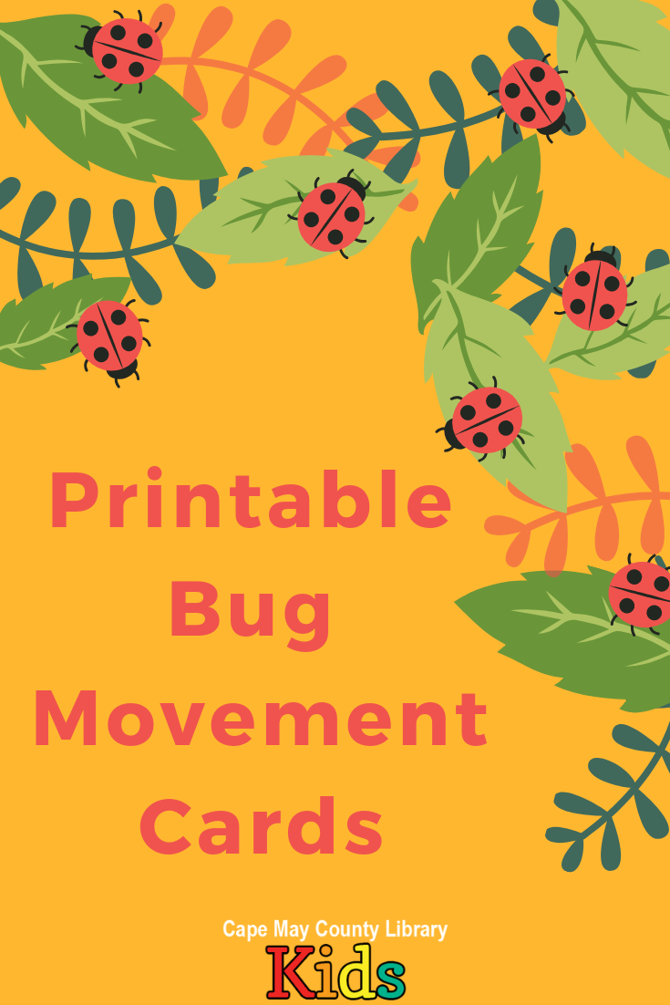 Bug Movement Cards Preschool Bug Theme Bugs Preschool Insects Theme