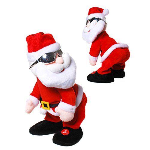 Tanzender Weihnachtsmann Mit Musik Nikolaus Santa Youre So Sexy