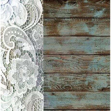Teal Barn Wood Lace Western Country Shower Curtain By ADMIN CP62325139