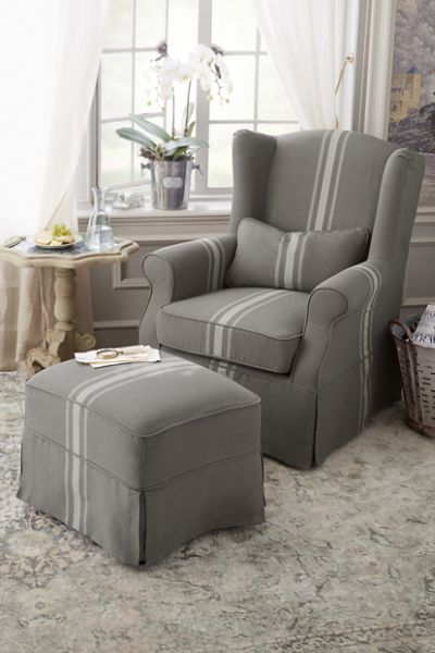Slipcovered Tristan Chair is part of Slipcovers for chairs - SLIPCOVERED TRISTAN CHAIR