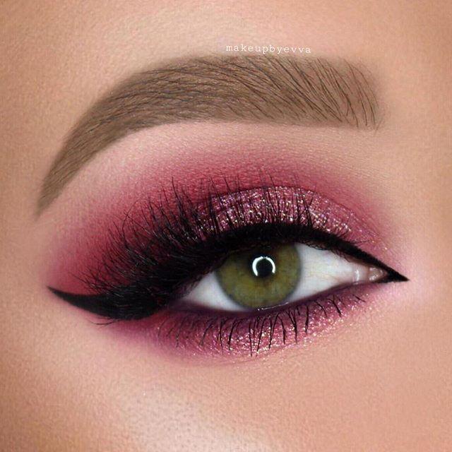 50- Erstaunlich Augen Make-up-Ideen für Frauen - Attraktiver Aussehen #glittereyemakeup