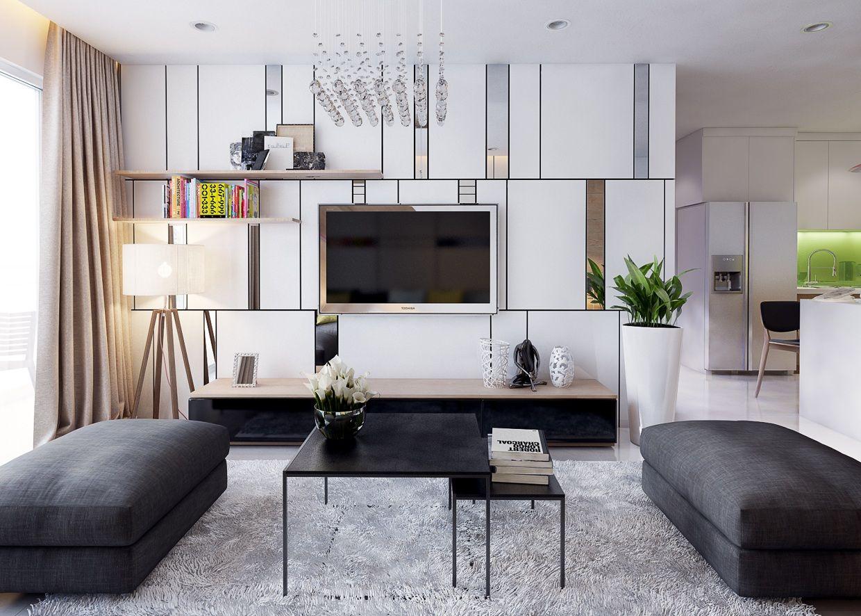 Stunningly Beautiful & Modern Apartments By Koj Design | Pinterest ...