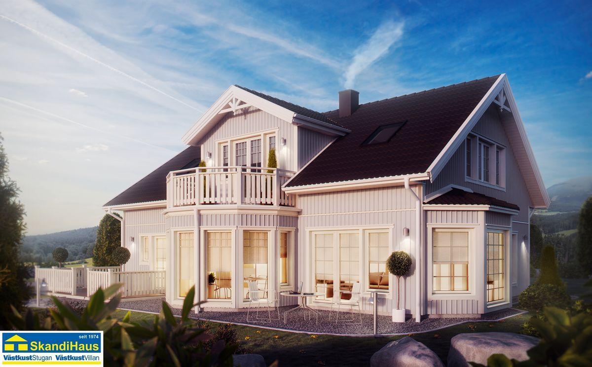 Fertighaus landhausstil  Architektur im Landhaus-Stil Traditionelle Landhausvilla   Haus 1 ...