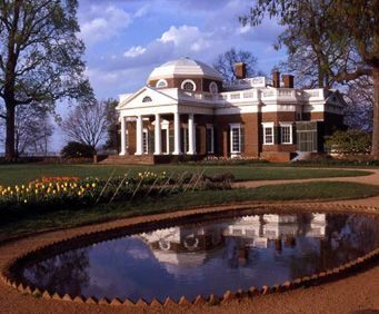 The Monticello- Thomas Jefferson Country will take you to Monticello, the home where Thomas Jefferson lived. You'll see artifacts from Jefferson's life as you tour the house and grounds at Monticello. You'll als o see the historic town of Charlottesville, VA.