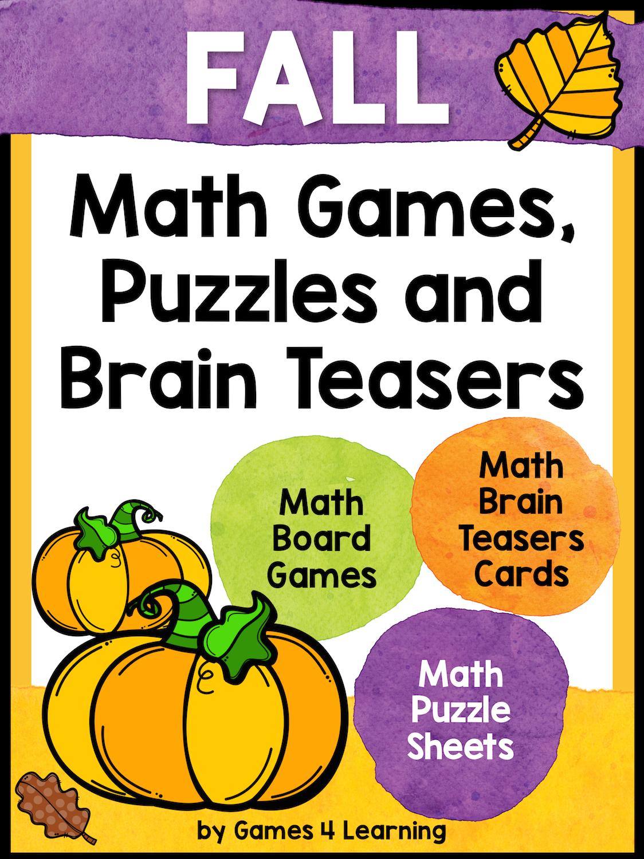 Fall Math Activities