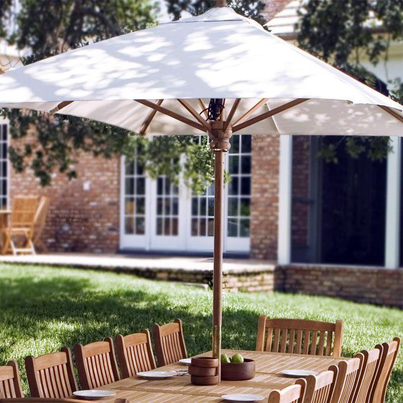 Lovely Teak Outdoor Furniture Dallas Tx Only In Miral Iva Design Westminster Teak Rectangular Umbrella Teak Garden Furniture